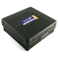 Frankford Arsenal Plastic Hinge-Top Ammo Box #1007 100 Rounds