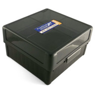 Frankford Arsenal Plastic Hinge-Top Ammo Box #1009 100 Rounds