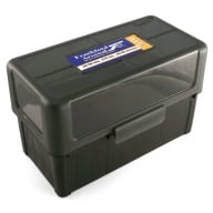 Frankford Arsenal Plastic Hinge-Top Ammo Box #510 50 Rounds