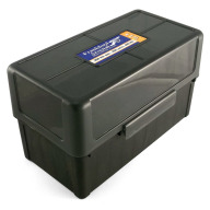 Frankford Arsenal Plastic Hinge-Top Ammo Box #511 50 Rounds