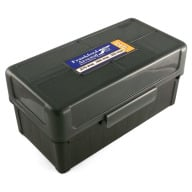 Frankford Arsenal Plastic Hinge-Top Ammo Box #515 50 Rounds