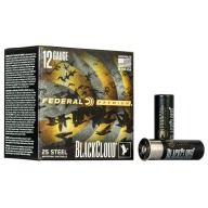 "FEDERAL AMMO 12ga 3"" BL-CLOUD 1450fps 1.25oz #4 25b 10c"