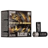 "FEDERAL AMMO 12ga 2.75"" BL-CD 1500fps 1-1/8 #4 25/bx"