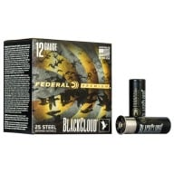 "FEDERAL AMMO 12ga 3"" BL-CLOUD 1450fps 1.25oz BB 25b 10c"