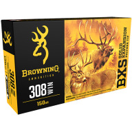 BROWNING AMMO 308 WINCHESTER 150gr LEAD FREE BXS 20/bx 10/cs