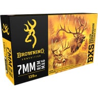 BROWNING AMMO 7mm REMINGTON MAG 139g LEAD FREE BXS 20/bx 10/cs