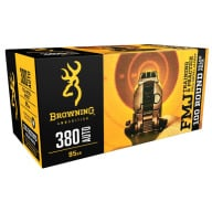 BROWNING AMMO 380 ACP 95gr FMJ VALUE PACK 100/bx 5/cs