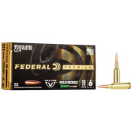 FEDERAL AMMO 224 VALKYRIE 90g SRA MATCHKING 20/bx 10/cs