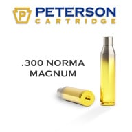 PETERSON BRASS 300 NORMA MAG UNPRIMED 50/bx