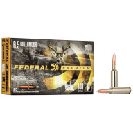 FEDERAL AMMO 6.5 CREEDMOOR 140gr NOSLER ACCUBOND (VS)