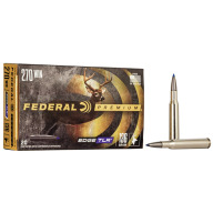 FEDERAL AMMO 270 WINCHESTER 136gr EDGE TLR (VS) 20/bx 10/cs