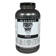 SHOOTERS WORLD BLACKOUT 1LB POWDER 16/cs