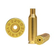 Starline Brass 224 Valkyrie Unprimed Bag of 100