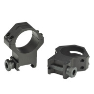 "WEAVER TACTICAL RING FOUR HOLE PICATINNY MED 1"" MAT"