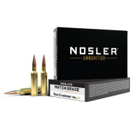 NOSLER AMMO 6MM CREEDMOOR 105gr RDF 20/bx 10/cs
