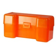 BERRY 45-70/SIMILAR HINGE TOP BOX 20RD H.ORANGE 50c