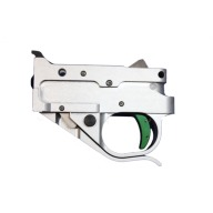 TIMNEY RUGER 10/22 NONADJ SILVER HOUSING,GREEN SHOE