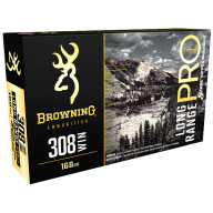 BROWNING AMMO 308 WINCHESTER 168gr MATCH RIFLE 20/b 10/c