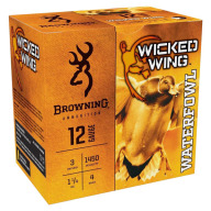 "Browning Ammo 12ga 3"" 1-1/4 #4 Wicked Wing Waterfowl"