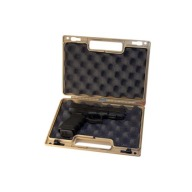 "BERRY SINGLE PISTOL CASE 11.38""x7.25""x2.75"" TAN"