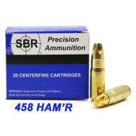 SBR AMMO 458 HAMR 300gr CONT FRACTURING 20b 10c
