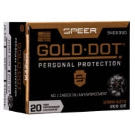 SPEER AMMO 10mm 200gr GoldDot-HP 20/bx 10/cs