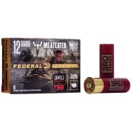 "FEDERAL AMMO 12ga 3rd DEGREE TURKEY 3"" 1-3/4oz #567 5b"
