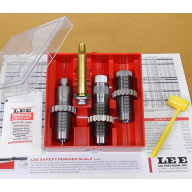 LEE 257 ROBERTS 3 DIE SET w/FACTORY CRIMP, S/H #2