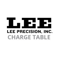 LEE SPARE 25/20 CHARGE TABLE **CE2661**