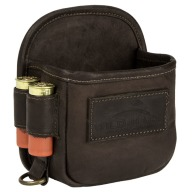 WILD HARE LEATHER 1-BOX SHELL CARRIER w/BELT CLIP