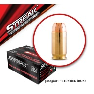 Streak Ammo 380 ACP 90gr TMC (Red) Box of 20