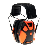 CALDWELL YOUTH ELECTRONIC EARMUFF HOT CORAL