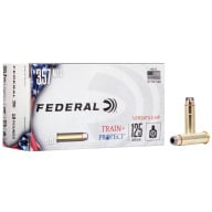 FEDERAL AMMO 357 MAG 125gr VHP TRAIN+PROTECT 50b 10c