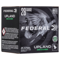 "FEDERAL AMMO 28ga 2-3/4"" 5/8 oz 7.5 UPLAND STEEL 25/bx"