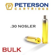 Peterson Brass 30 Nosler Unprimed Bulk Box of 250