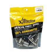 STARLINE BRASS 10MM UNPRIMED NICKEL PER 100