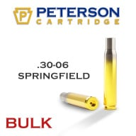 Peterson Brass 30-06 Springfield Unprimed Bulk Box of 500