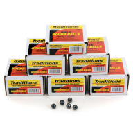 TRADITIONS 50C(.490) LEAD ROUND BALL 177GR 100/BX