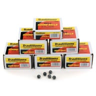 TRADITIONS 44C(.451) LEAD ROUND BALL 140GR 100/BX