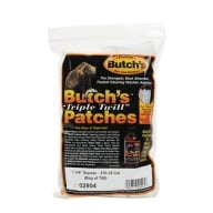 "BUTCH'S TWILL PATCH 270c- 35c 1.75"" SQUARE 750/BAG"