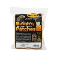 "BUTCH'S TWILL PATCH 45c- 58c 2.5"" SQUARE 375/BAG"