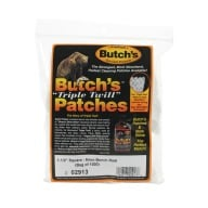 "BUTCH'S TWILL PATCH 6MM BR 1.5"" SQUARE 1000/BAG"