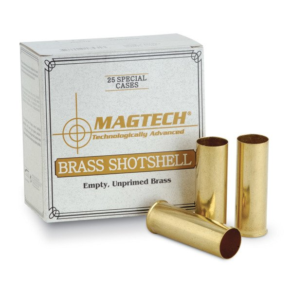 Magtech Brass 12 Gauge Unprimed Box of 25