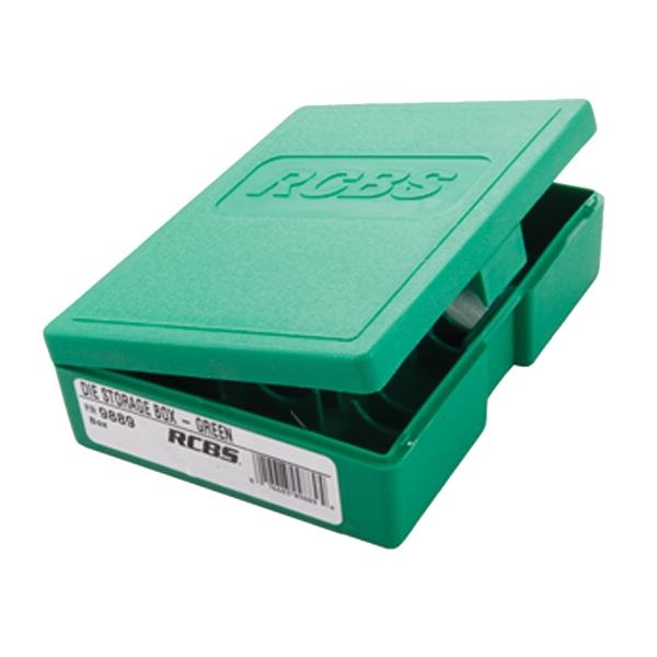 Rcbs Die Storage Box Green Holds 1 3 Dies Graf Amp Sons