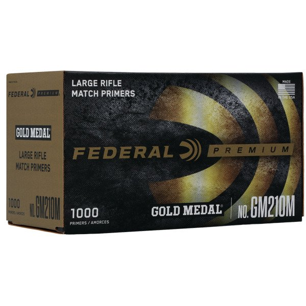 FEDERAL PRIMER LARGE RIFLE MATCH 1000/BOX