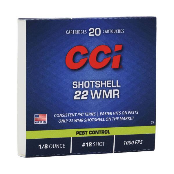 cci ammo 22 mag shot shell 20 bx 100 cs graf sons