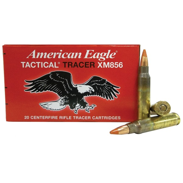 FEDERAL (LC) AMMO 5.56mm 64gr TRACER STEEL-CORE 20b 25c