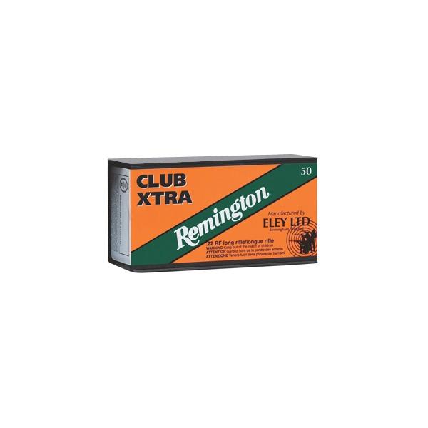 REMINGTON AMMO 22LR 40gr LRN ELEY CLUB 50/b 100/c