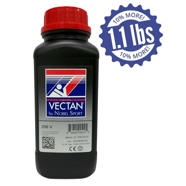 Nobel Sport Vectan 206-V Smokeless Powder 1 1 Pound - Graf
