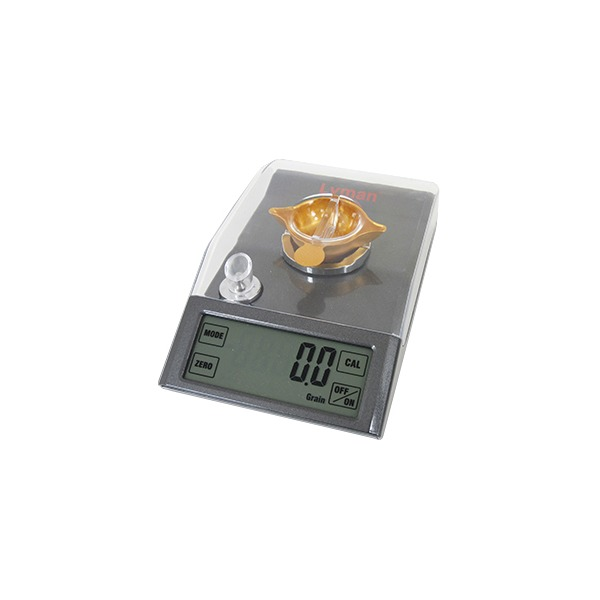 Lyman Pro-Touch Desktop Electronic Powder Scale 1500 Grain Capacity 115 Volt